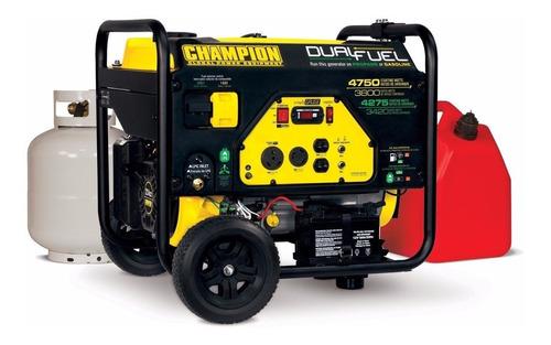 champion 76533 planta eléctrica gas propano 3800w/4750w