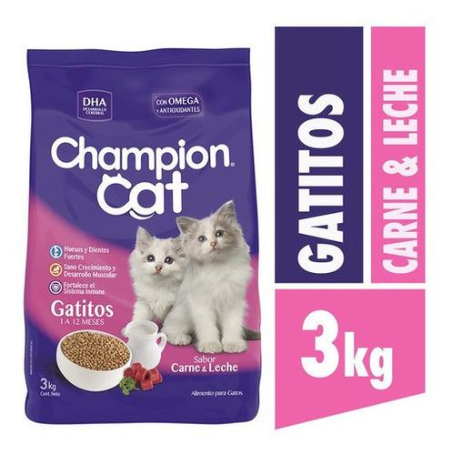 champion cat gatito 3 kg