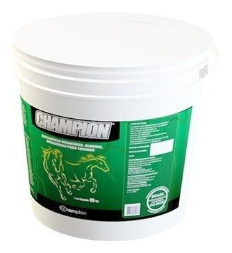 champion equinos 5 kg - suplemento vitamínico e mineral