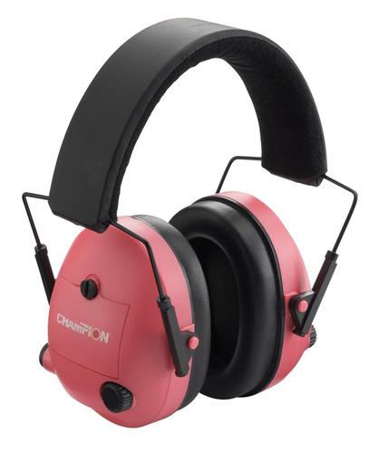 champion rosa electronic orejeras