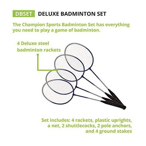 champion sports deluxe juegos de juegos al aire libre30191