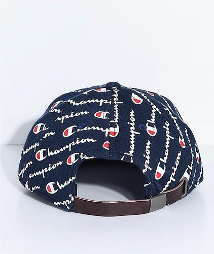 champion - strapback hat - gorra plana (snapback)