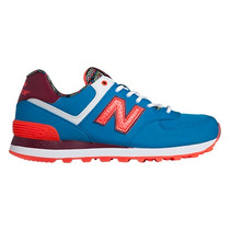 Championes New Balance 574 Sbe Blue/orange De Dama