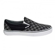 Championes Vans Checkerboard Gray/black