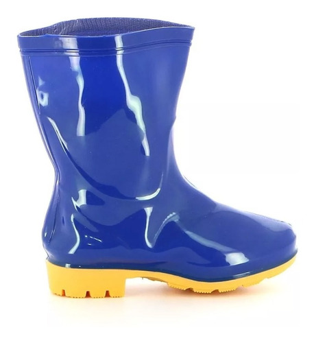 championes calzado bota de lluvia para niño niña mvd sport
