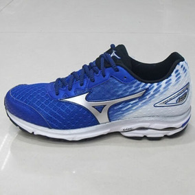 t�nis mizuno masculino wave creation 19 uruguay junior aaa