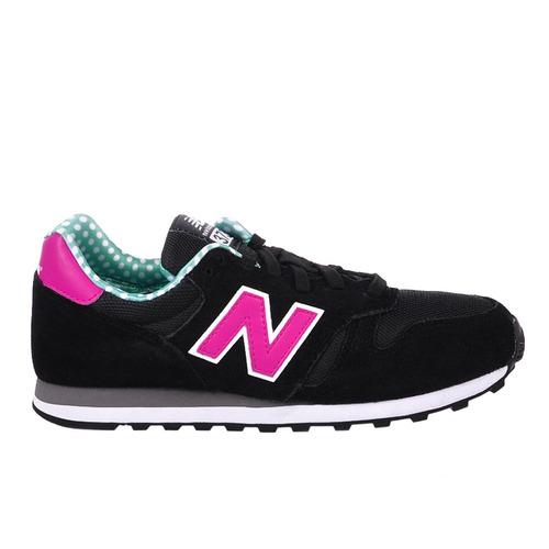 new balance 373 negro y rosa