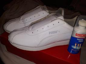 por otra parte, paquete Sucio  Blu 4.3 - Championes Blanco Puma en Mercado Libre Uruguay