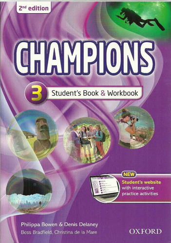 champions 3 with reader - oxford 2nd edition