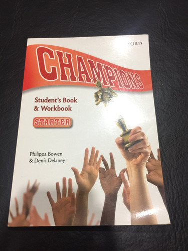 champions - student's book & workbook - oxford