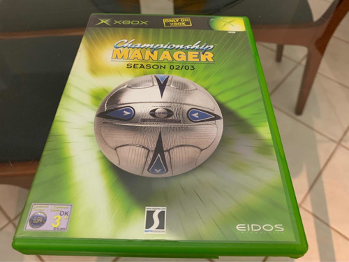 championship manager xbox clássico