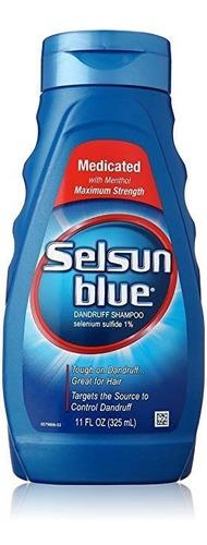 champú anticaspa selsun azul medicado - ml a $227