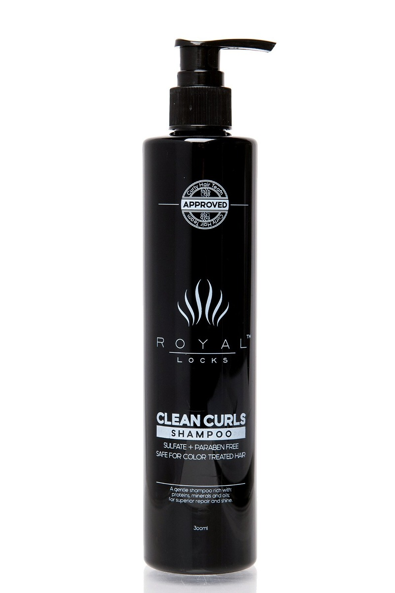 Champú Para Cabello Rizado De Royal Locks Clean Curls Es