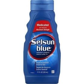 Champú Shampoo Selsun Azul Medicado Anticaspa, 11 Oz