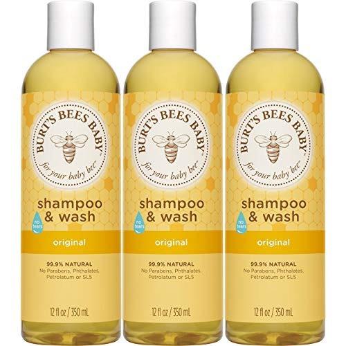champú y gel de baño para bebé 98,9% natural 12 onzas líq. 3
