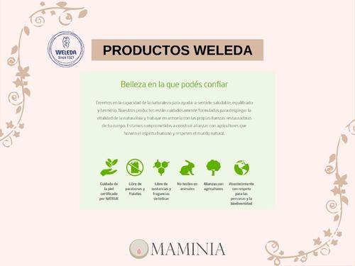 champú y gel de ducha de caléndula weleda p/ celiacos vegano