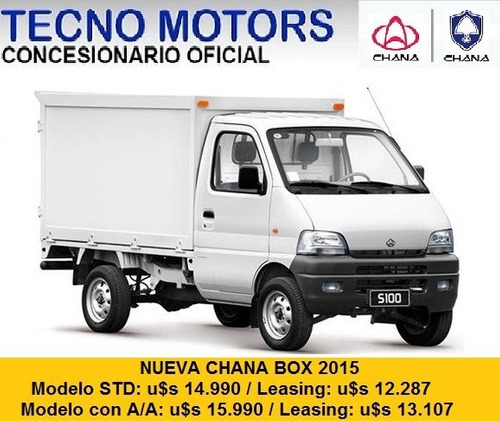 chana box, tecno motors concesionario y servicio