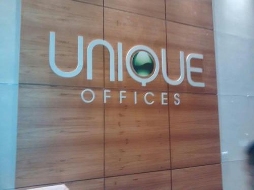 chance de ouro - unique offices - sala 27 m2 por r$ 123 mil