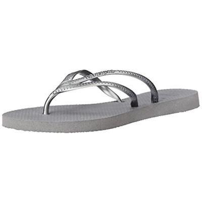 Chanclas Havaianas Mujer Tria Gris Goma Zapatos 6 Medio (b ... f6c3c3ac174