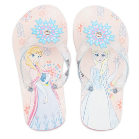 e0bda179f Chanclas Para Niña Anna Y Elsa Disney Store Frozen