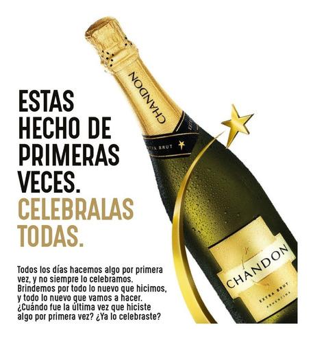 chandon champagne extra brutt 750 ml original 01almacen