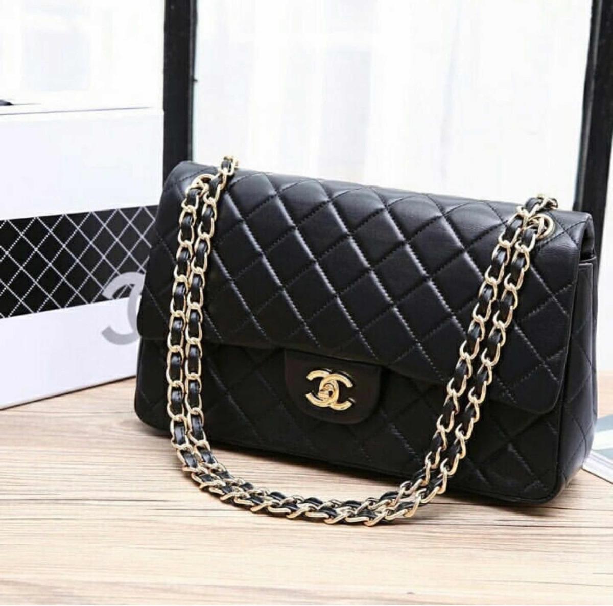 3cb918784 Chanel 2.55 Preta - R$ 2.300,00 em Mercado Livre