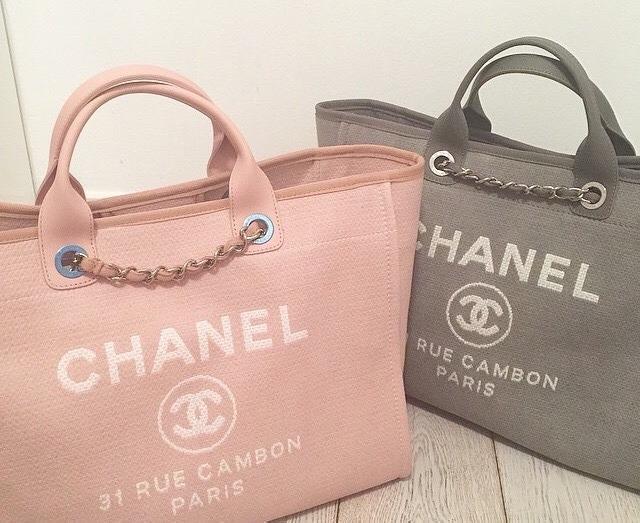 2254771470d9f2 Chanel Deauville Canvas Tote 100% Autentical! - R$ 2.800,00 em ...