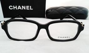 bdd63bf302 Chanel Oftalmicos Lentes Modelo Ch-3235c201 54mm Armazon