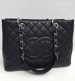 871326aae Bolsa Chanel Grand Shopper Tote Gst - Bolsas de Couro no Mercado ...