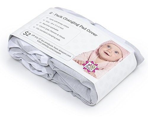 changing pad cover 2 pack unisex cloudschevron fitted soft j