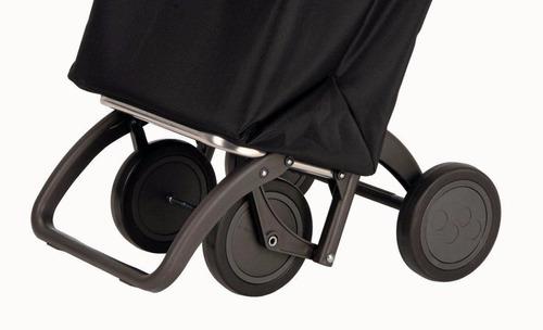 changuito carro de compras carrito 4 ruedas rolser calidad