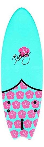 channel islands surfboards bethany soft-top, turquoise, 5'6