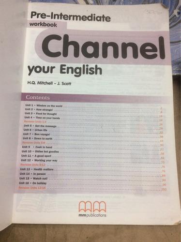 channel pre intermediate. libro escolar de inglés