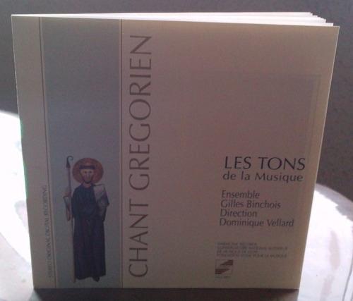 chant gregorien les tons de la musique cd suizo ed 1989 au1