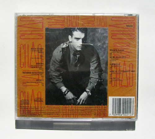 chao historias defectuosas cd mexicano sellado 1991