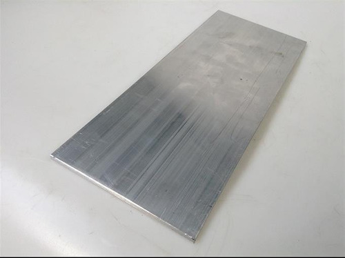 chapa aluminio 20cm x 50cm x 5,00mm