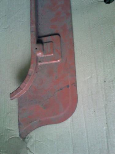 chapa assoalho superior traseiro parte dianteira motor sp2