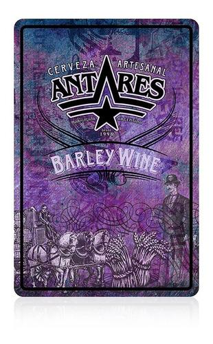 chapa barley wine  cerveza artesanal antares