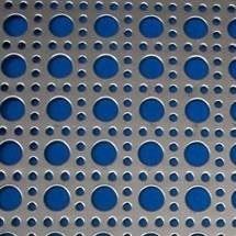 chapa de acero perforada d:4 mm   hoja 1000x2000 mm x 1,25mm