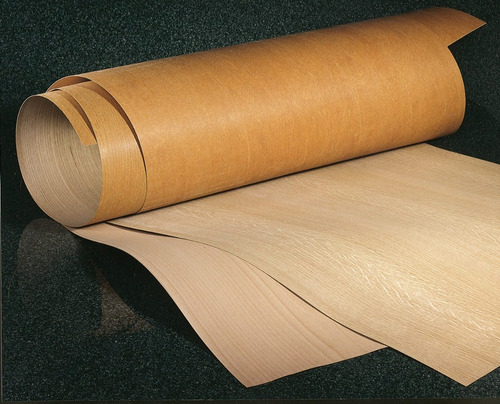 chapa de madera natural okume  0.40m x 2.44m