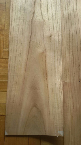 chapa de madera natural paraiso