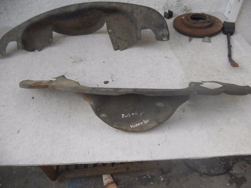 chapa de refrigeracion y cubre polea de volksvagen fusca