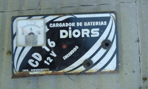 chapa esmaltada cargador de bateria diors 24 cns   x  12 cns