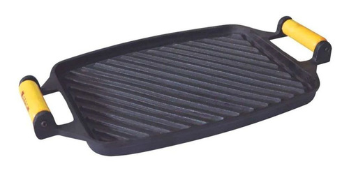 chapa frisada de ferro fundido - medidas 24x30,5cm