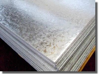 chapa galvanizada lisa c27 (0,40 mm) 1,22 x 2,44 mts-oferta!