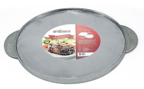 chapa & grill polida - art & sabor oferta