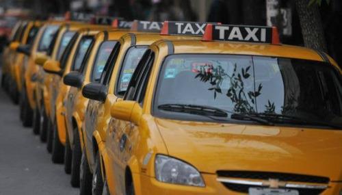chapa / licencia de taxi ciudad de cordoba