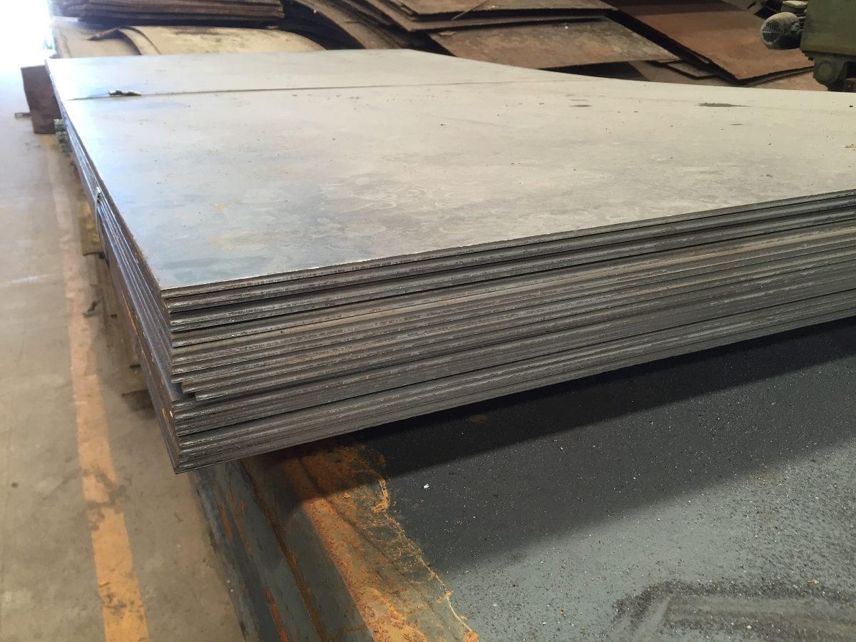 Placas de hierro precios stunning techos garage galerias - Precio chapa acero ...