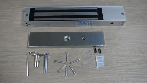 chapa magnética / electroiman / 600 lbs / 280 kg para acceso