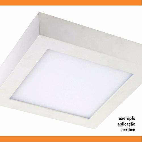 chapa ou placa de acrílico branco leitoso sob medida - otimo